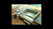 Rc Modellbau Vakuum Fass mit Tank Schnorchel