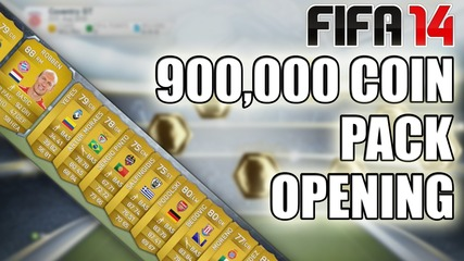 Fifa 14 | 9 x 100,000 Coin Pack Opening