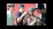 Big Time Rush Trashing Twenty Twenty's dressing room