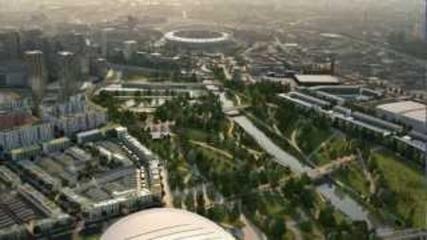 Олимпийският Парк в Лондон 2012