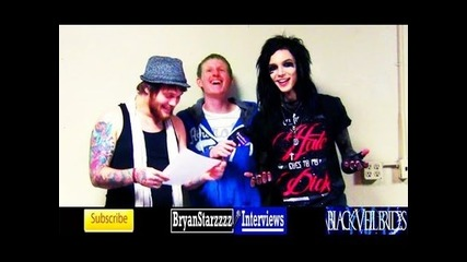 Black Veil Brides and Asking Alexandria Interview #5