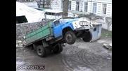 Как се разтоварва камион