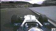 F1 mythic corners onboard | F1 1991-2013 - Eau Rouge