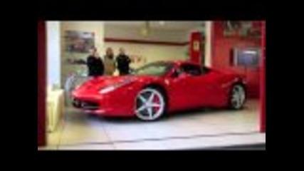 Трудно паркиране на Ferrari 458 italia