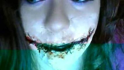 Halloween : Как се прави зомби Уста