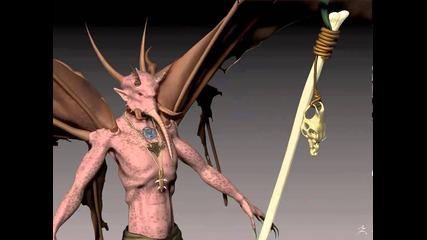 Demon Zbrush