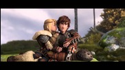 Ново!!трейлър на как да си дресираш дракон 2*актьорите говорят за своите герои във филма*