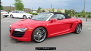 2012 Audi R8 5.2 Fsi V10 Spyder Start Up, Exhaust, and In Depth
