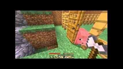 Minecraft - Приключенията на Дани , Mapиo и Зайо Еп.10