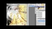 Оцветяване на манга: прилагане