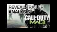 Call of Duty: Modern Warfare 3 - Reveal Trailer Analysis