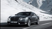 2013 Bentley Continental Gt V8 Laps Navarra Race Circuit! - Ignition Episode 12