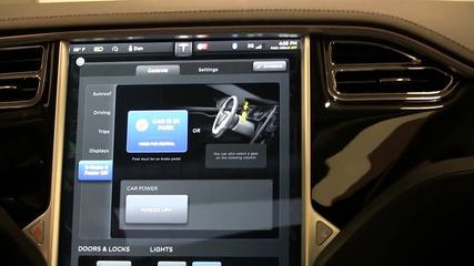 Tesla Model S Factory Delivery