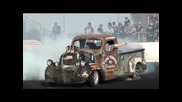 1000hp Ratrod Pick-up Fries the Tyres And Transmission