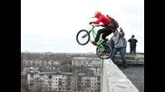 Скокове с колело от сгради