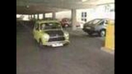 Mr. Bean-parking