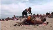 Camara Oculta - La Playa ,el Parado