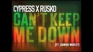 """Cypress Hill X Rusko's """"can't Keep Me Down (featuring Damian Marley)"""""""