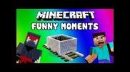 Minecraft Funny Moments w/big Mitko :d