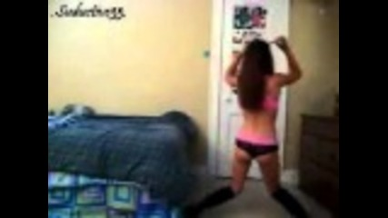 Hot Teen Girl Dance, Shaking Sexy Ass.
