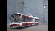 Trolleybus model / Model trolejbusu