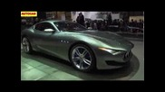Geneva motor show 2014: Maserati Alfieri revealed - Porsche 911, Jaguar F-type rival