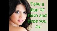 Selena Gomez- Live like there's no tomorrow