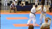 Турнир по шинкиокушин карате Шумен 2014 част 2