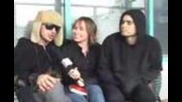 Jared & Shannon Leto interview with Roz Allen!