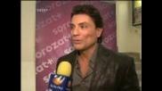 Osvaldo Rios - entrevista en Triunfo del Amor - интервю за теленовели