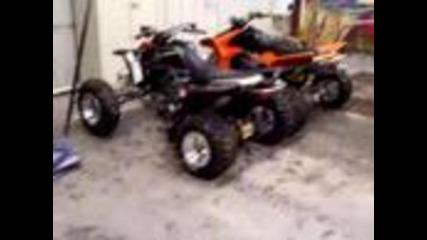 Двама красавци 450r & Raptor 660 cc