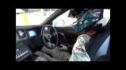 Дрифт с Nissan R35 Gt-r