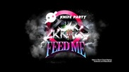 Feed Me vs. Knife Party vs. Skrillex - My Pink Reptile Party (maluu's Slice'n'diced Mashup)
