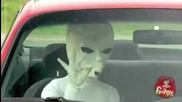 Ufo Пришалци (скрита Камера) (смях)