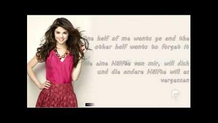 Selena Gomez-my dilemma- Lyrics
