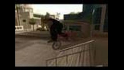 Gta San Andreas: Bmx Stunt Video