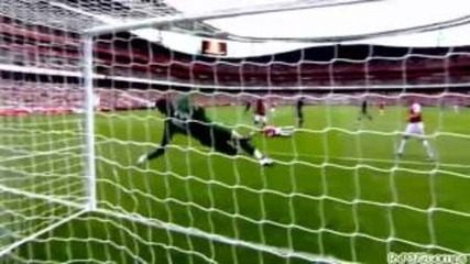Какви спасявания от вратаря на Arsenal Wojciech Szczesny