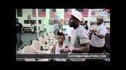 Floyd Mayweather & 50cent in the Gym