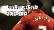 Luis Suarez 2012/13 Goal Compilation *hd 1080p*