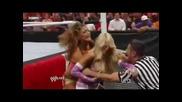 Eve Torres & Kelly kelly vs. Beth Phoenix & Natalia