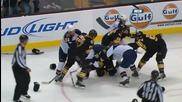 Boston Bruins vs. Atlanta Thrashers Brawl [12.23.2010 ]