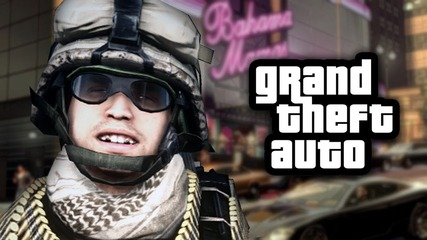 Battlefield in Gta! - Funny Moments & Deaths