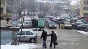 Зимната обстановка в Шумен 12.01.2015 г.