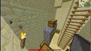Minecraft живот на село #4-тимбър мод и честове по стената