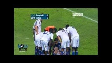 Chelsea vs Malaysia Xi 4-1 2013 All goals