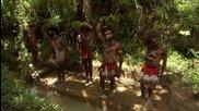 Папуа-нова Гвинея Екскурзия до Маунт Хаген фестивал 2013 и Племената