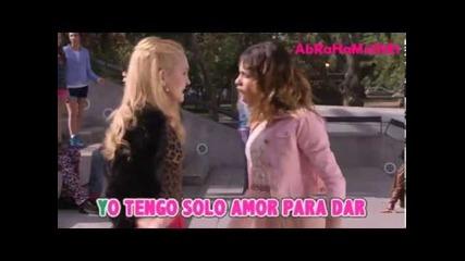 Violetta 2 - Si es por Amor (video Oficial) con Letra Hd