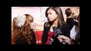 Zendaya Colemand Bella Thorne - Interview red carpet at Tangled Premiere.flv