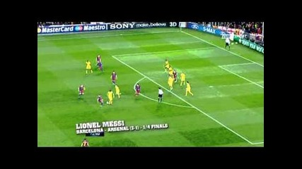Top 10 Goals Uefa Champions League Season 2010-2011