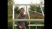 Монтаж на градинска оранжерия